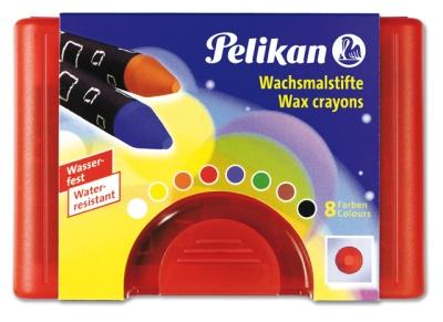 Pelikan Wachsmalstifte rund wasserfest