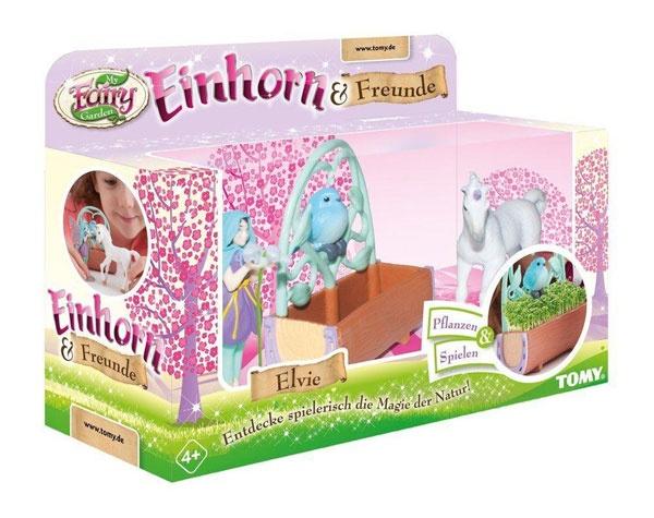 Fairy Garden Magisches Einhorn Elvie & Freunde