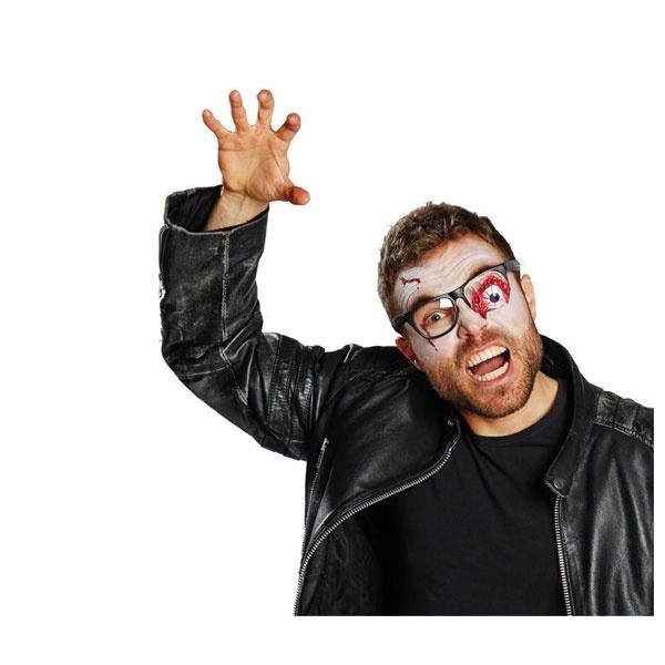 Kostüm-Zubehör Brille Zombie