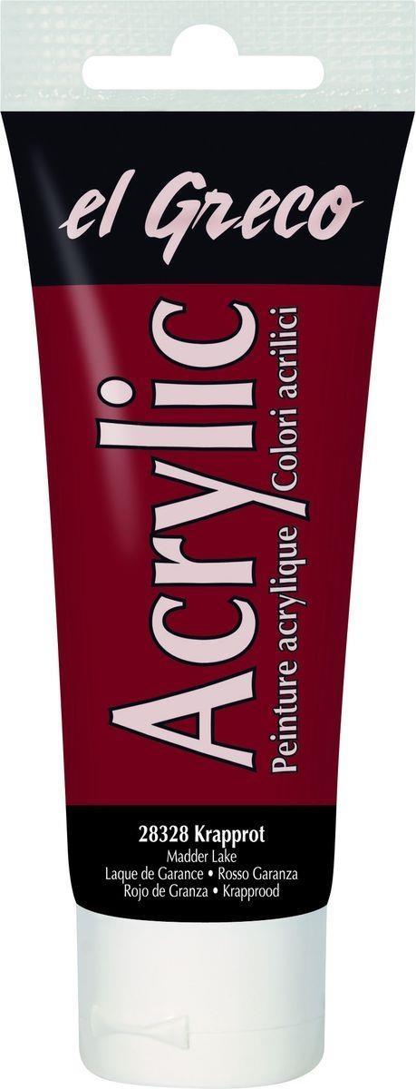 El greco Acrylic Acrylfarbe Krapplack 75ml