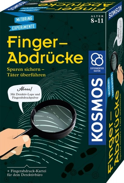 Mitbringexperiment Finger-Abdrücke