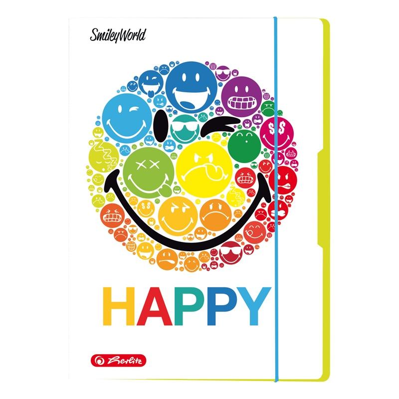 Herlitz Sammelmappe SmileyWorld A3