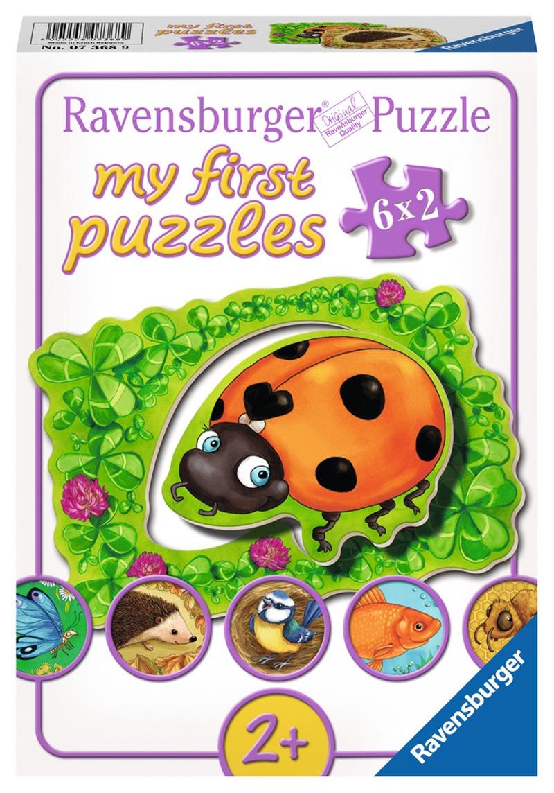 Ravensburger my first puzzle Wo die Tiere wohnen 12 Teile
