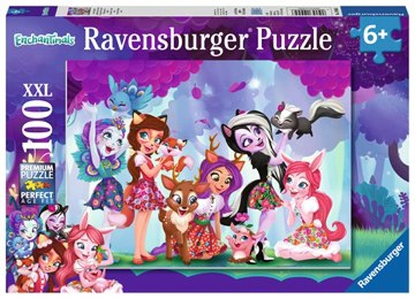 Ravensburger Puzzle Enchantimals Vereinte Freunde