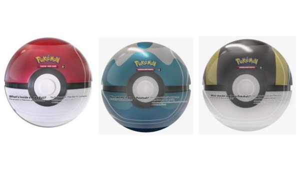 Pokemon Tin Kugel Pokeball 2020