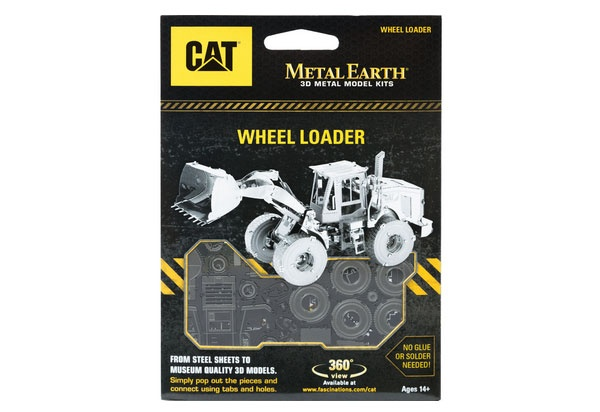 Bastelset Metal Earth CAT Wheel Loader (Radlader)