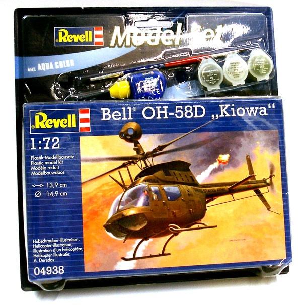 Revell 64938 Modelset Bell OH-58D Kiowa 1:72