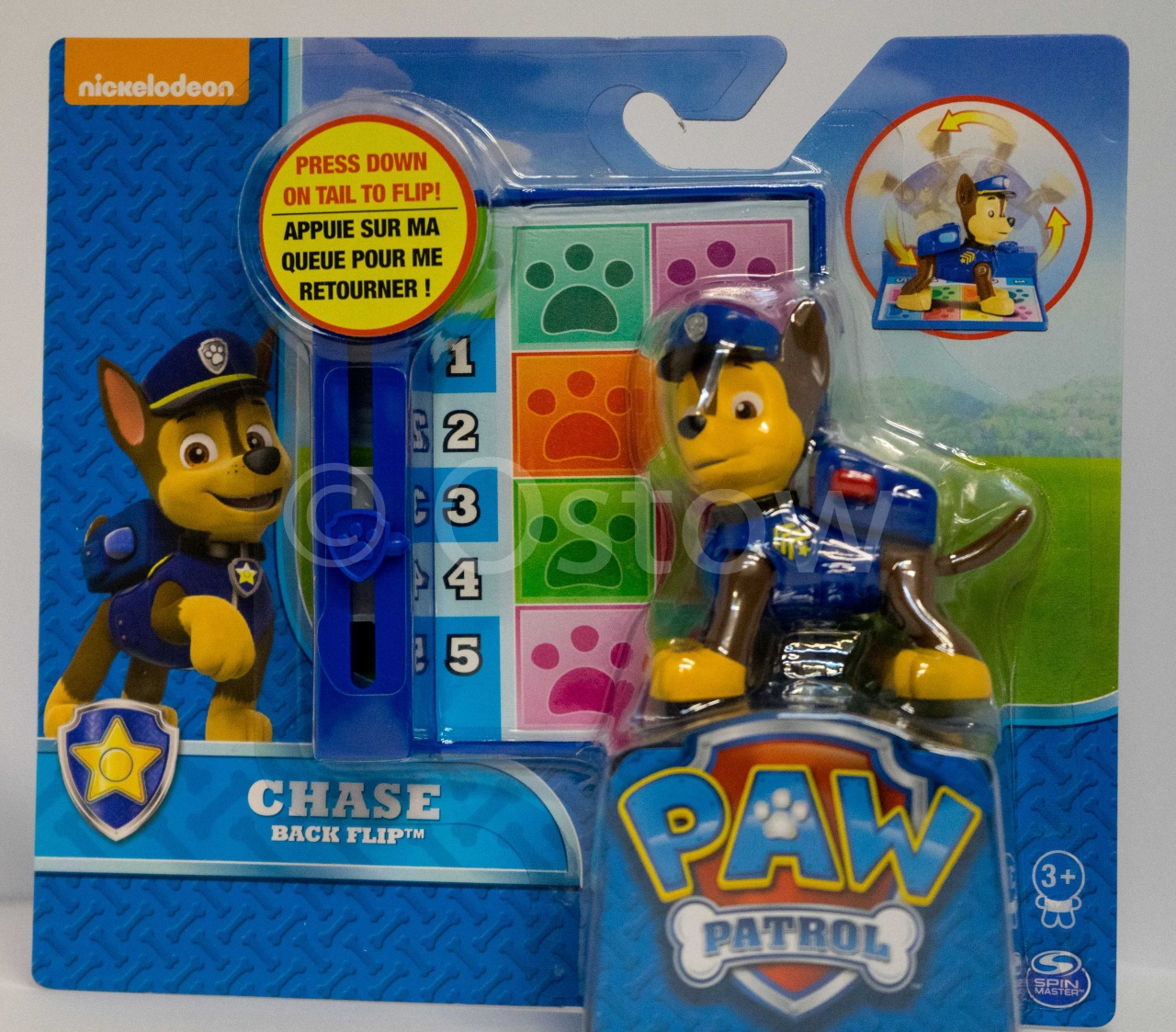 Paw Patrol Action Pack Pups Deluxe Figur Chase