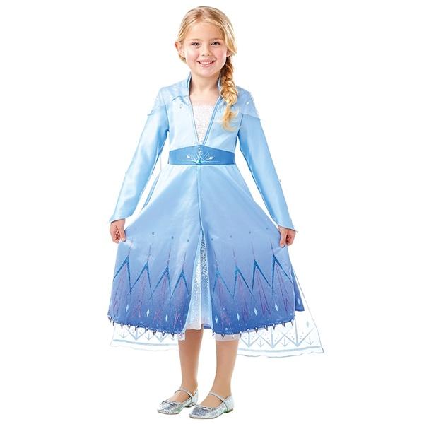 Kostüm Elsa Frozen 2 Premium L 128 cm
