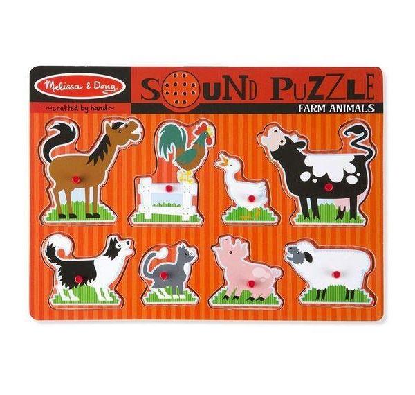 Sound Puzzle  Farmtiere Soundpuzzle