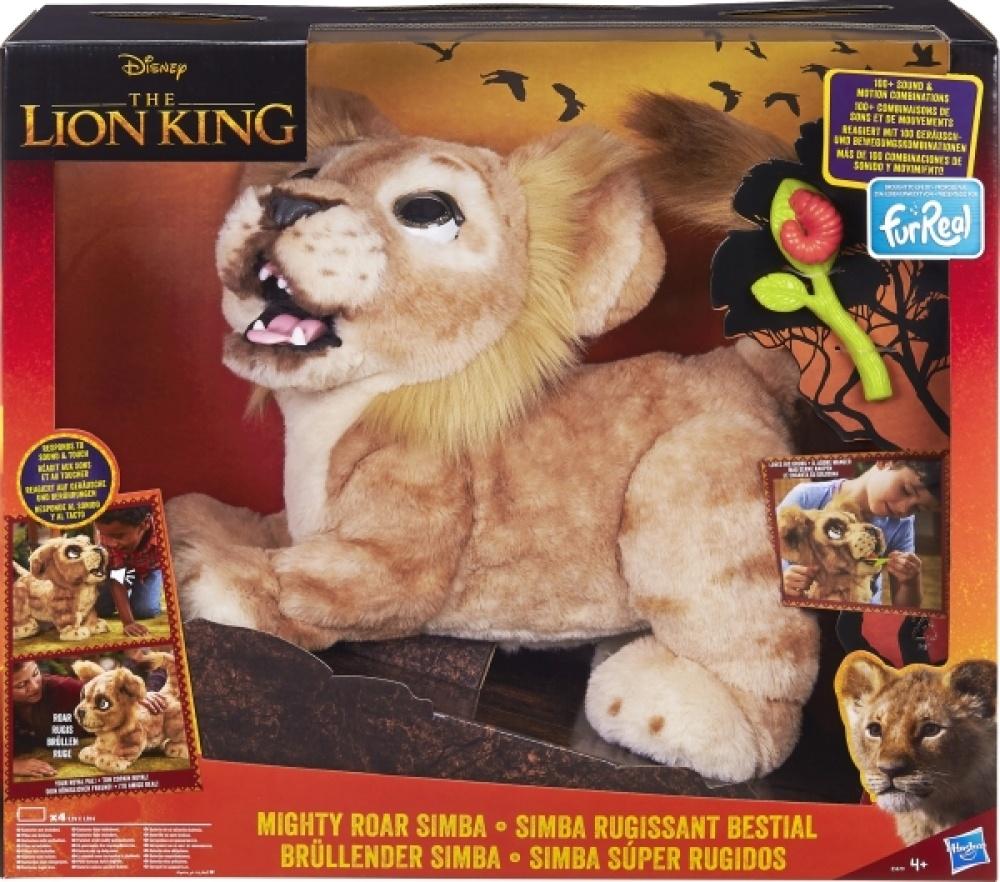 FurReal  Disney König der Löwen Brüllender Simba