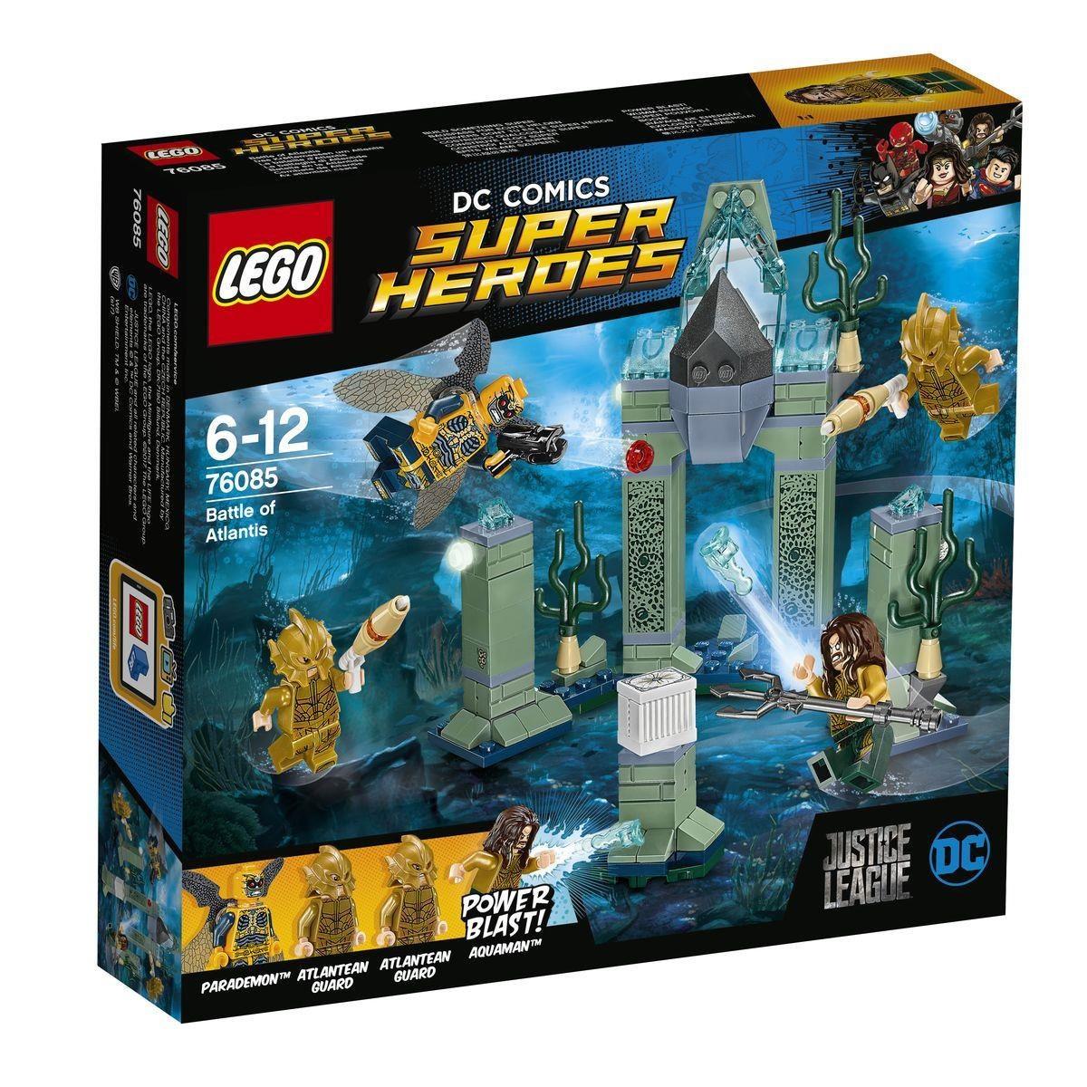 Lego DC Comics Super Heroes 76085 Das Kräftemessen um Atlant