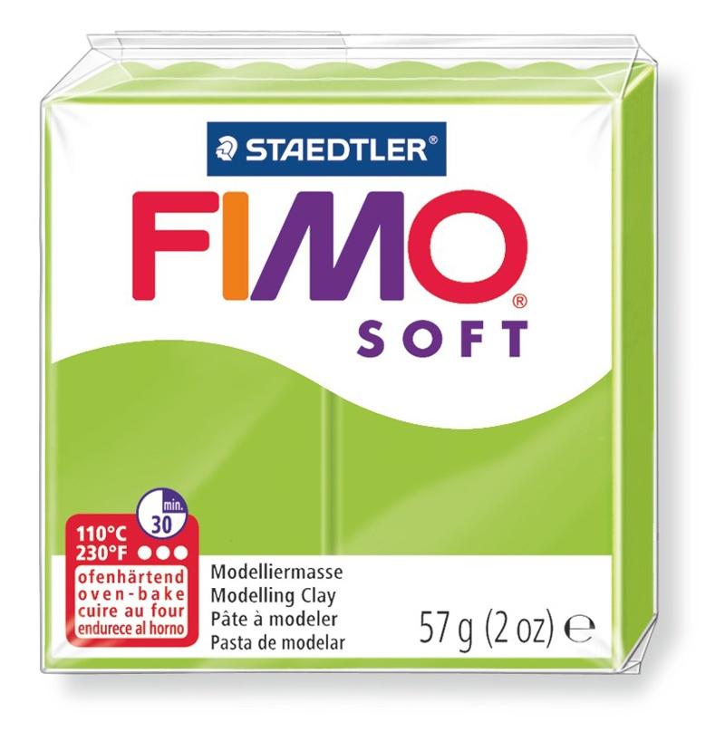 Staedtler Modelliermasse Fimo soft apfelgruen 57 g