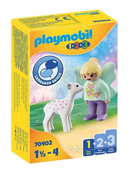 Playmobil 70402 1.2.3 Feenfreundin mit Rehkitz