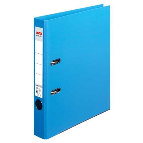 Ordner A4 max.file protect hellblau 5 cm von Herlitz