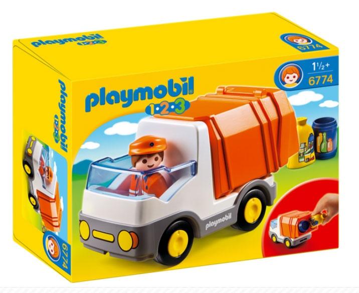 Playmobil 6774 1.2.3 Müllauto