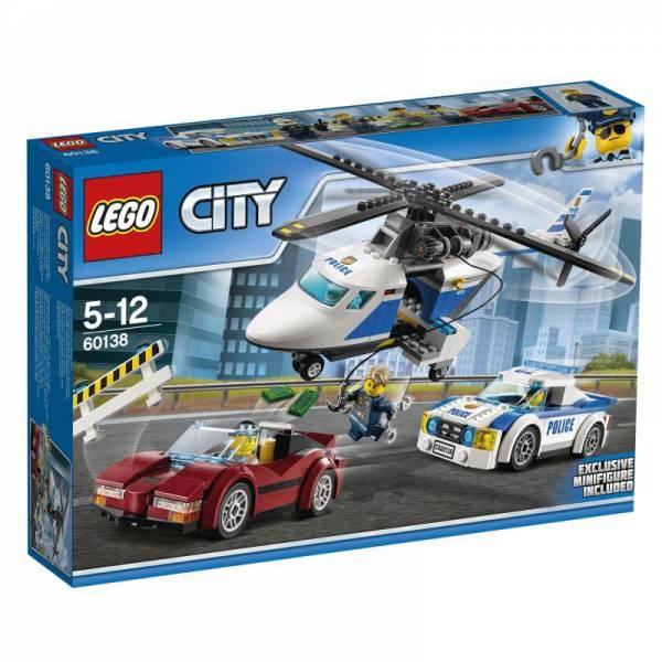 Lego City Polizei 60138 Rasante Verfolgungsjagd