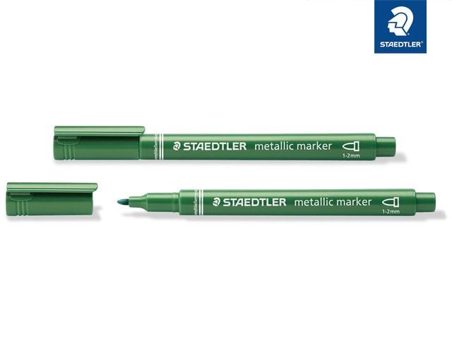 Marker metallic grün