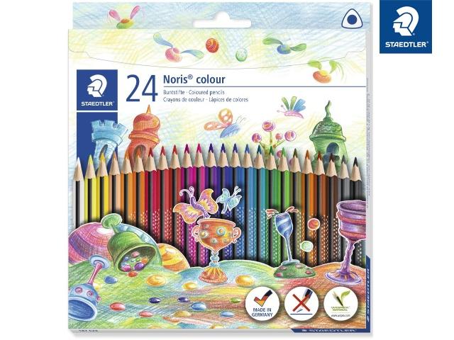 Staedtler Buntstifte Noris colour 24 Stück Packung