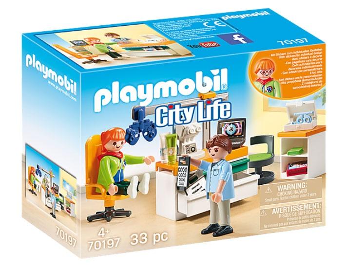 Playmobil 70197 City Life Beim Facharzt: Augenarzt