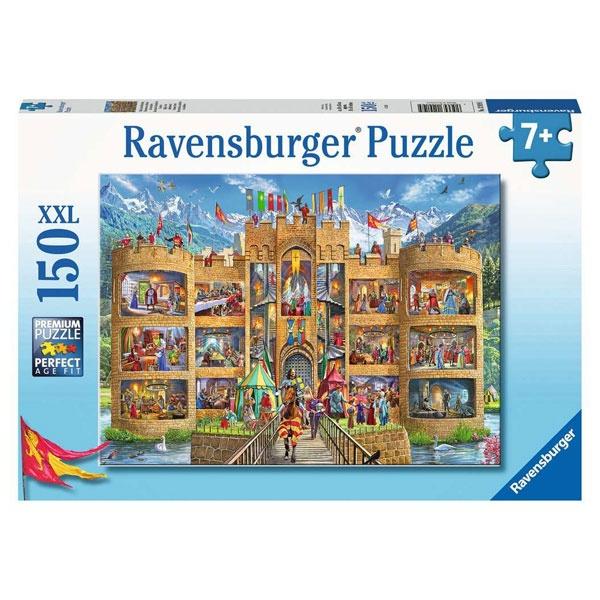 Ravensburger Puzzle Blick in die Ritterburg 150 Teile