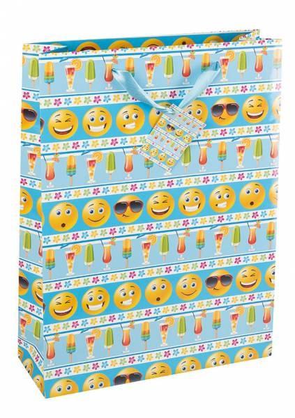 Geschenktasche Emoticon 35 x 25 x 8 cm