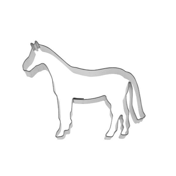 Ausstecher Pferd ca. 8 cm Edelstahl
