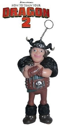 Dragons Schlüsselanhänger Figur Rotzbakke