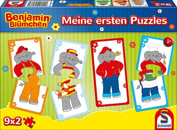Schmidt Spiele Benjamin Blümchen Meine ersten Puzzle 9 x 2
