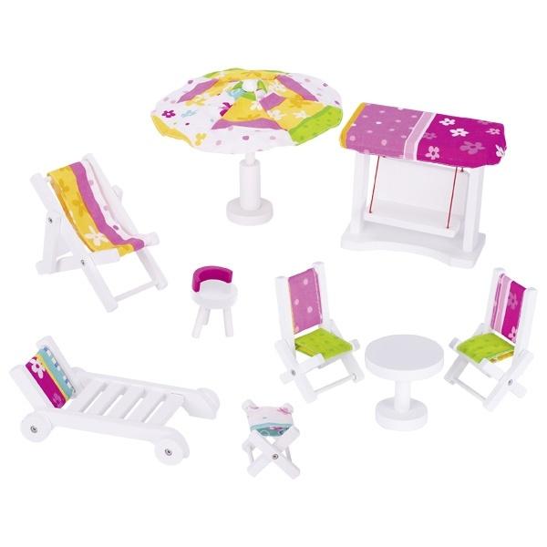 Puppengartenmöbel Set Susibelle