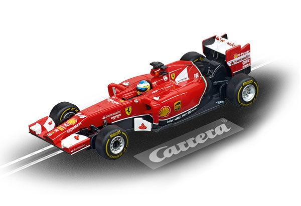 Carrera Digital 143 Ferrari F14 T F.Alonso No.14