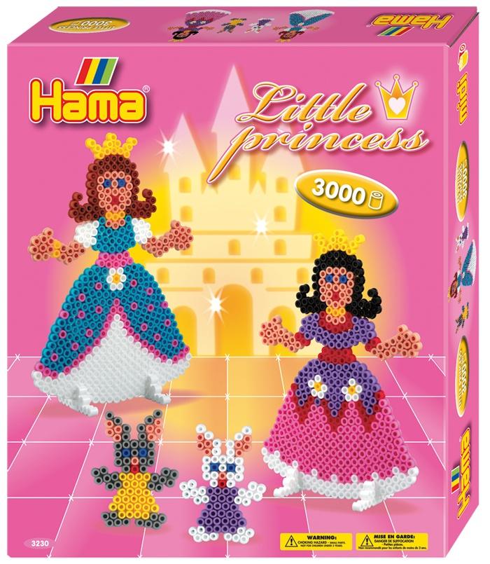 Hama Bügelperlen-Set Kleine Prinzessinnen Geschenkpackung