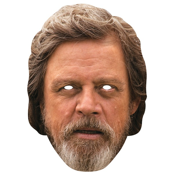 Kostüm-Zubehör Luke Skywalker Card Mask