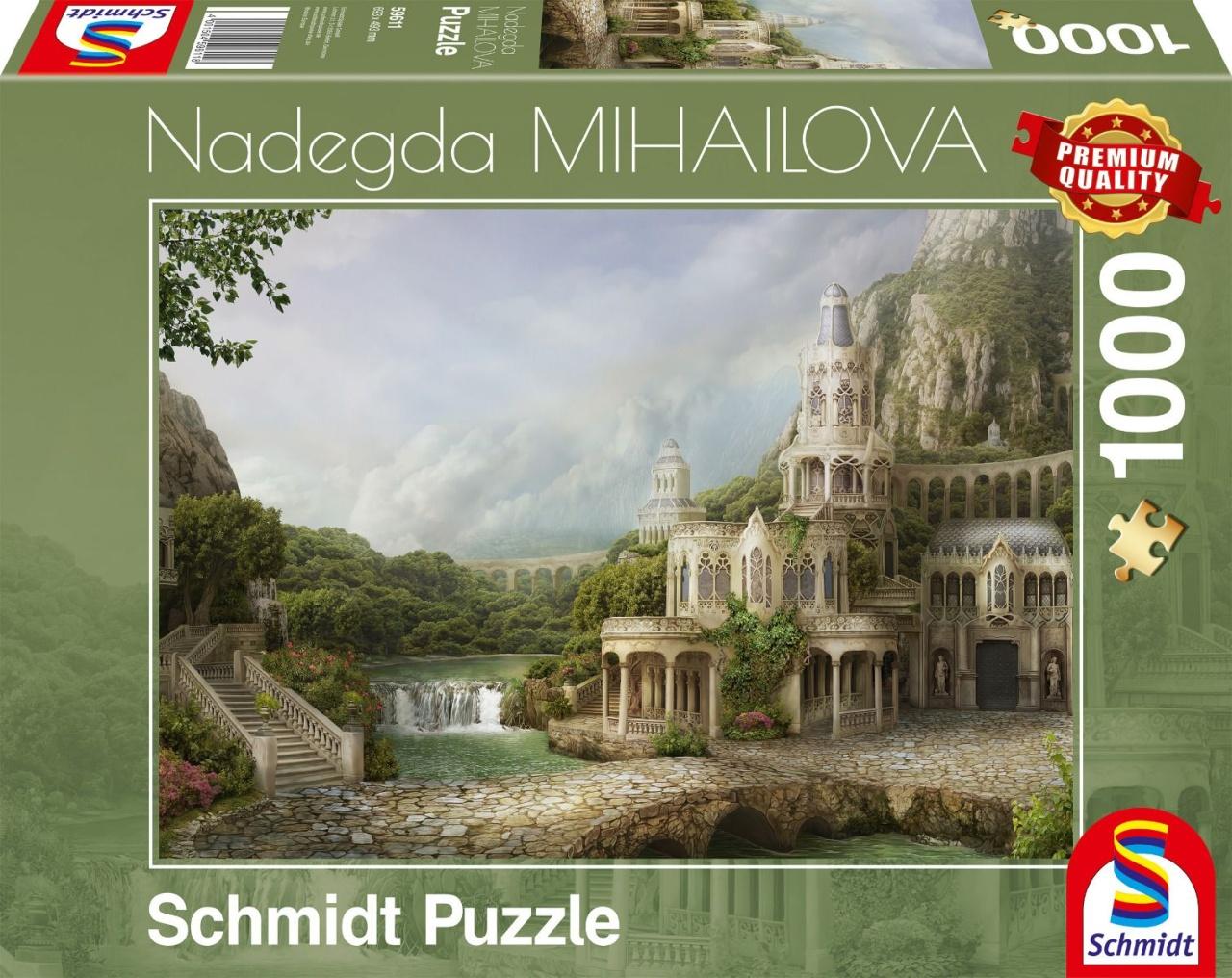 Schmidt Spiele Puzzle Nadegda Mihailova Palais in den Bergen
