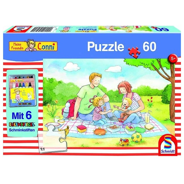 Puzzle Conni - Picknick im Freien 60 Teile