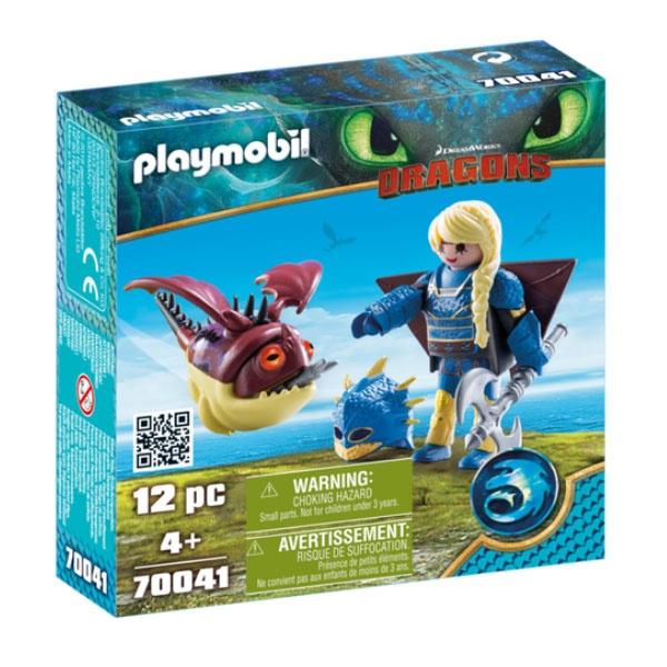 Playmobil 70041 Dragons Astrid mit Fluganzug und Hobgobbler