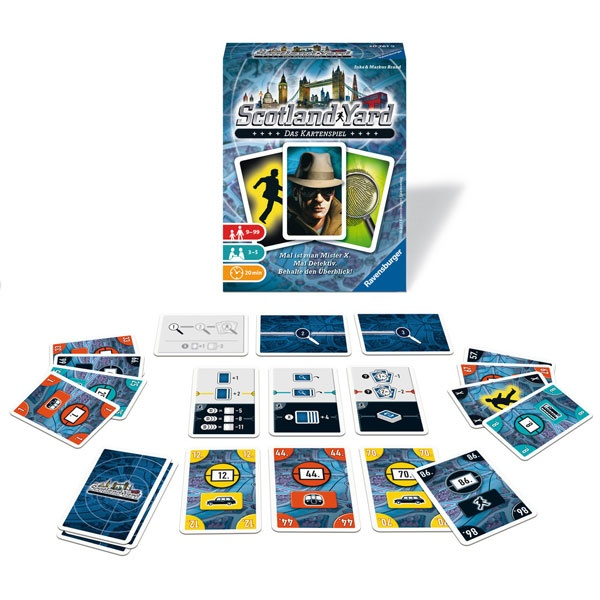 Scotland Yard  Das Kartenspiel von Ravensburger