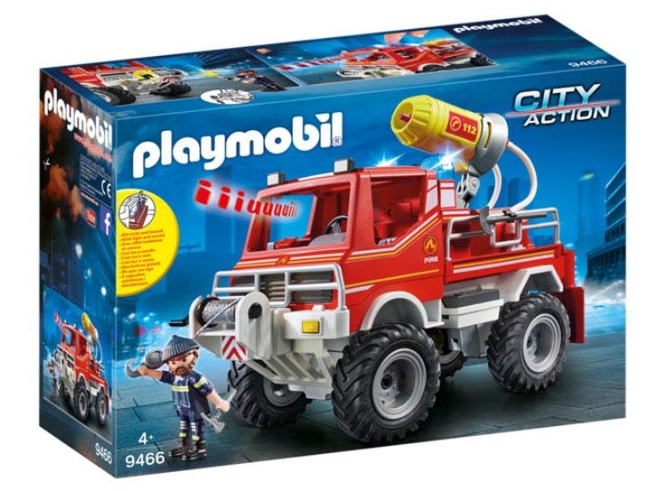 Playmobil 9466 City Action Feuerwehr-Truck