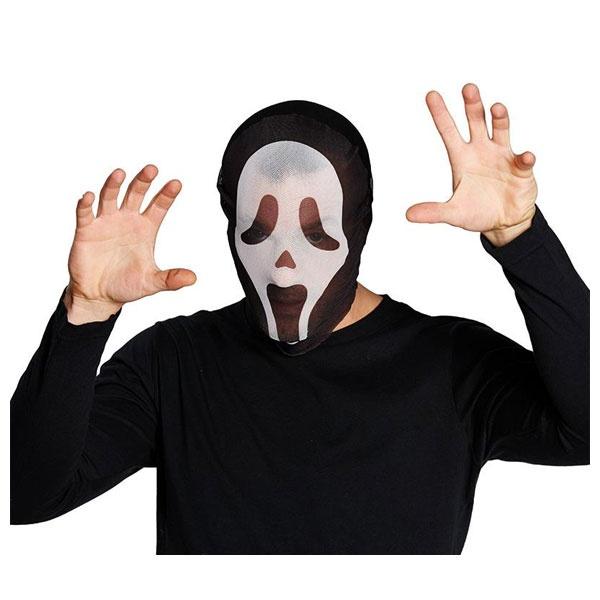 Kostüm-Zubehör Maske Shocked Ghost