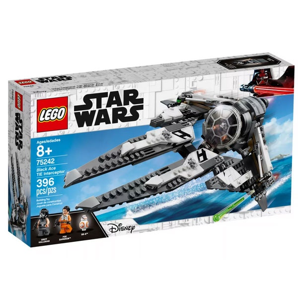 Lego Star Wars 75242 TIE Interceptor - Allianz-Pilot