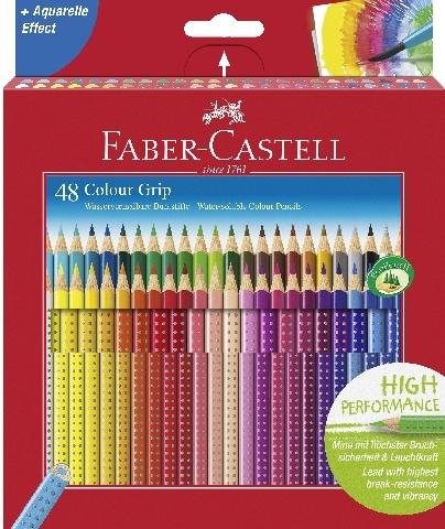 Faber Castell Farbstift COLOUR GRIP 48er Packung