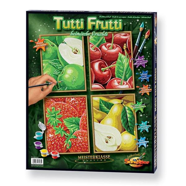Schipper Malen nach Zahlen Tutti Frutti Quatro