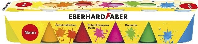 Faber Schulmalfarben neon 6x25ml Set