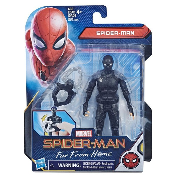 Marvel Spiderman Spider Man Far From Home Figur schwarz