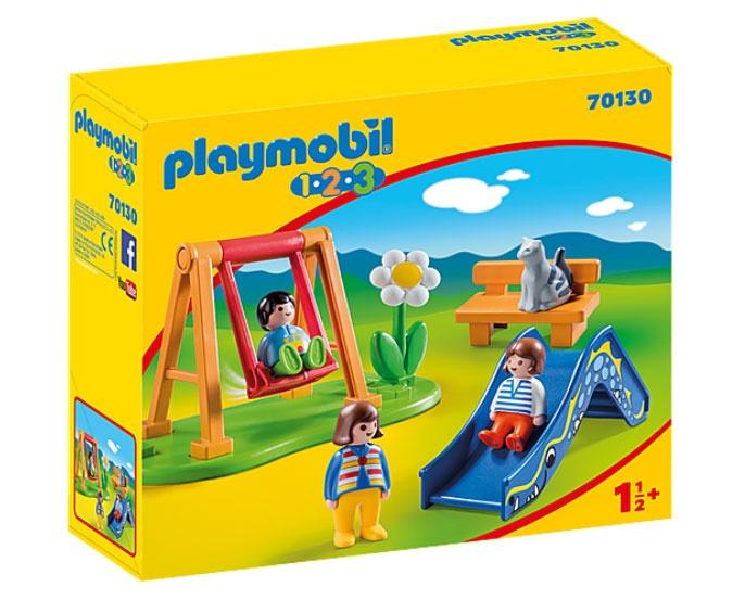 Playmobil 70130 1.2.3 Kinderspielplatz
