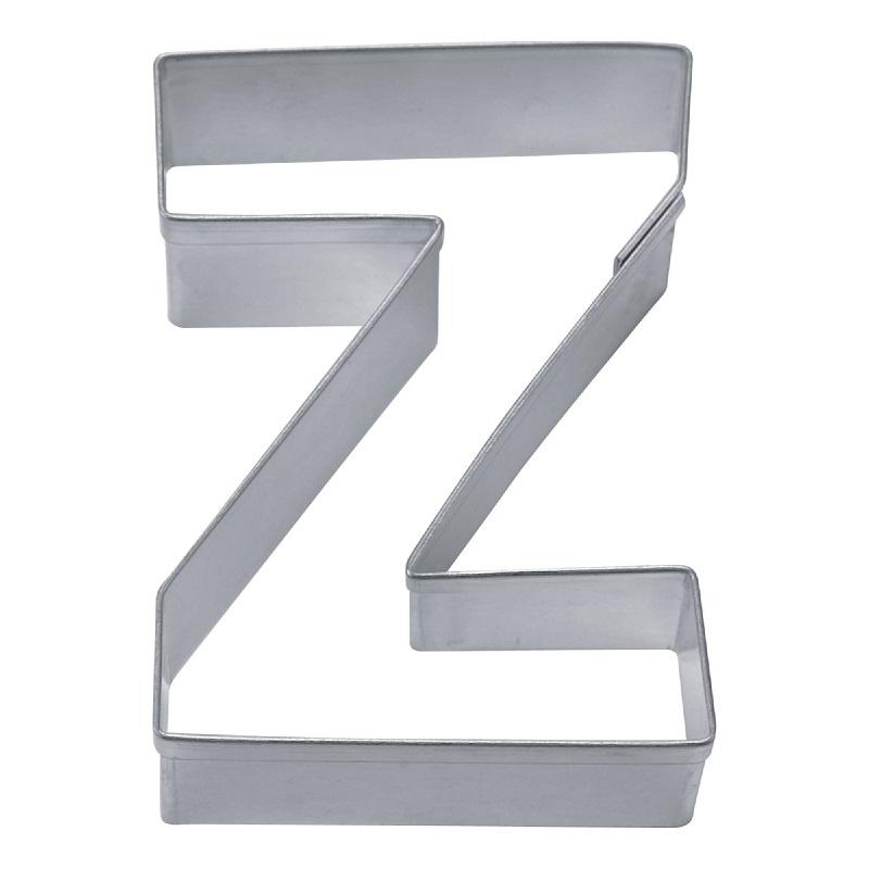 Ausstecher Buchstabe Z aus Edelstahl