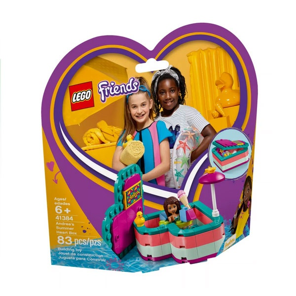 Lego Friends 41384 Andreas sommerliche Herzbox