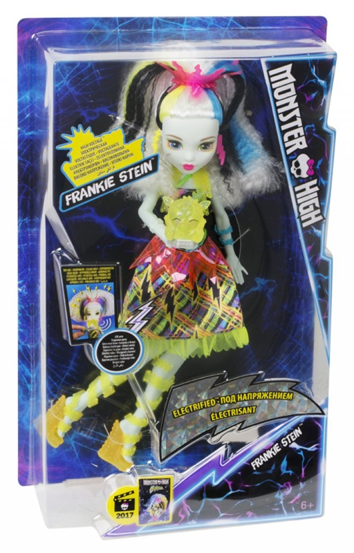 Mattel Monster High Elektrisiert Hochspannungslook Franki