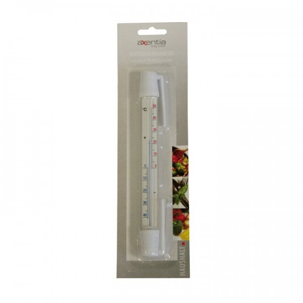 Fensterthermometer Kunststoff 20 cm