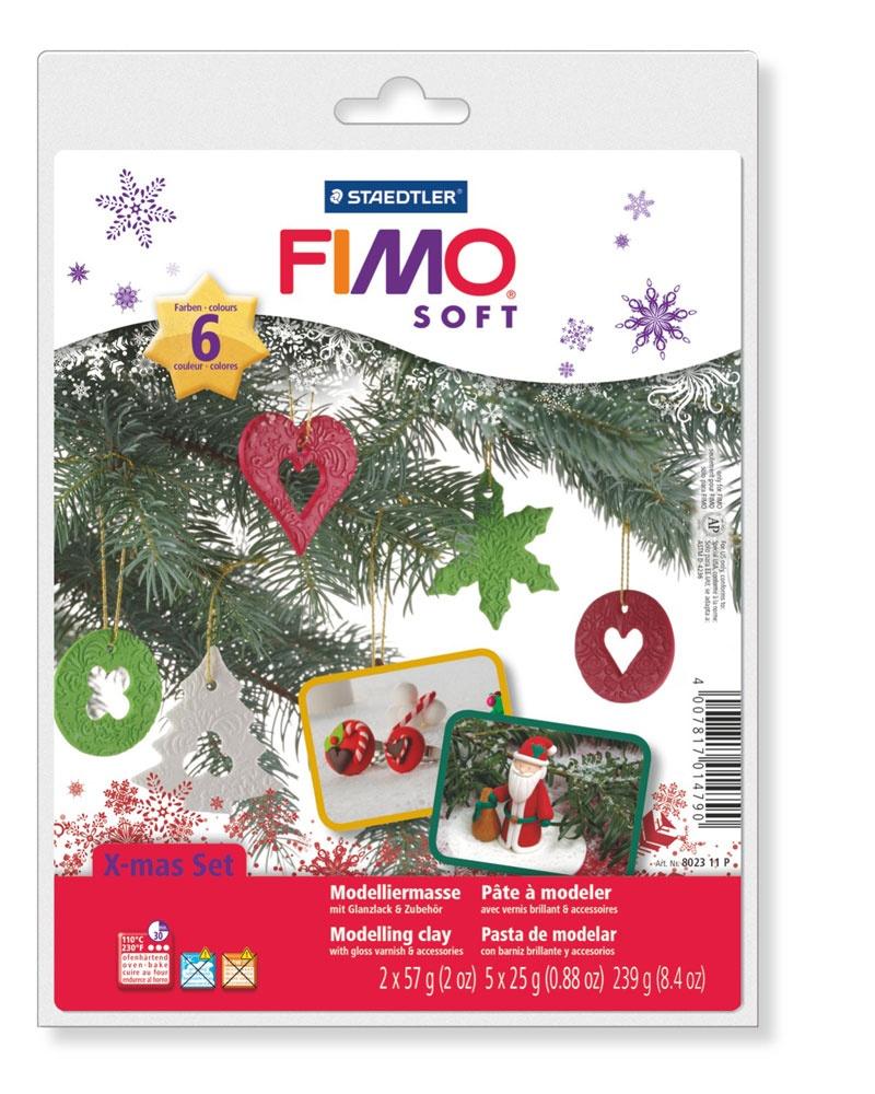 Staedtler Fimo soft Weihnachts-Set mit Zubehör